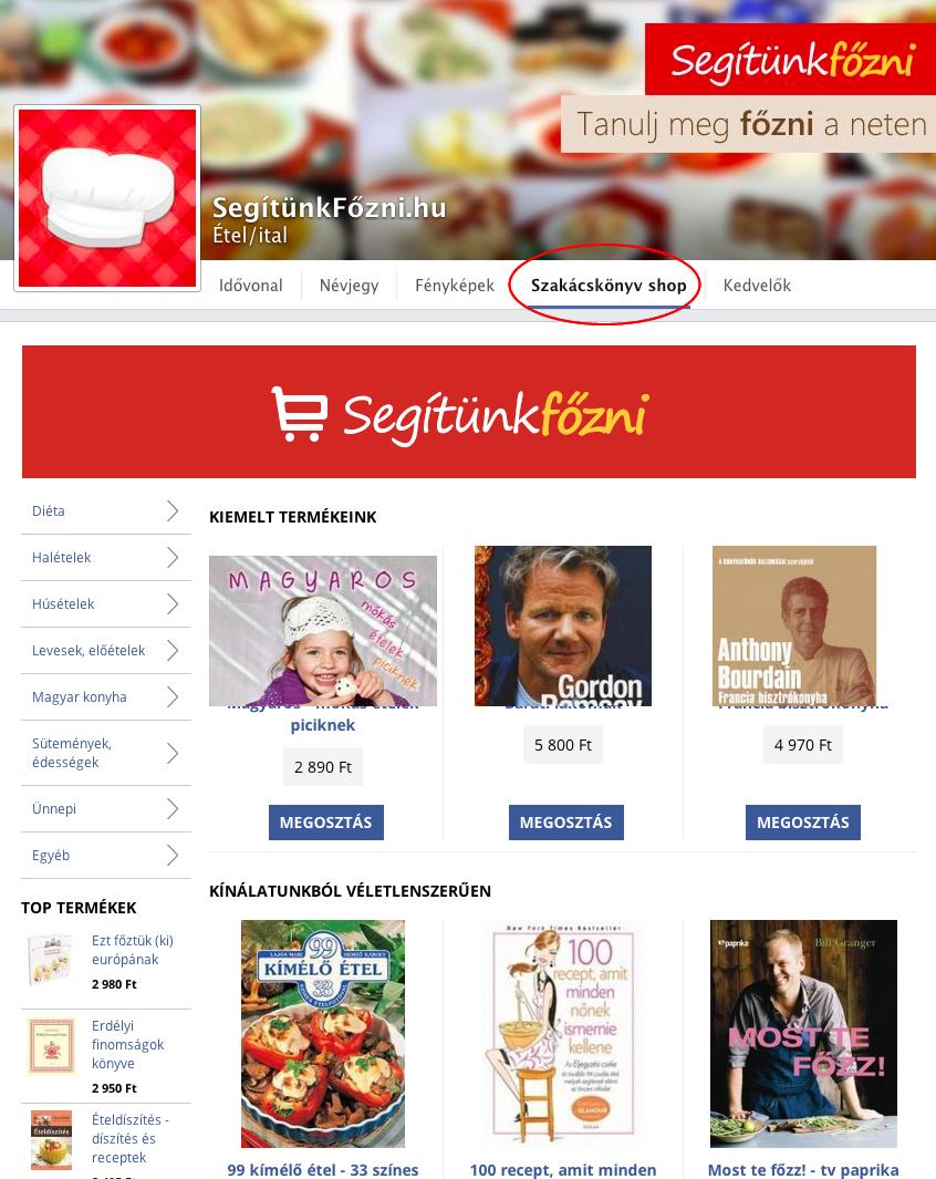 913ddd91d3 Facebook webáruház készítés - StartÜzlet webáruház készítés ...